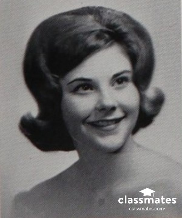 1964 senior portrait