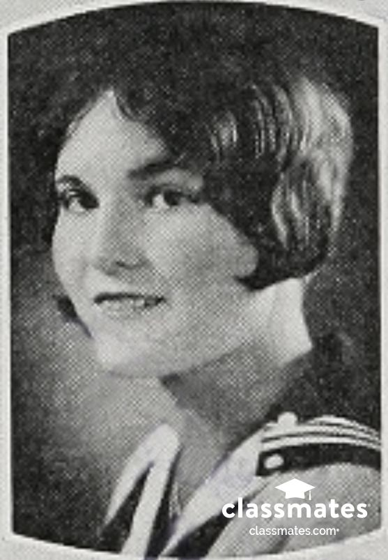 1929 senior portrait