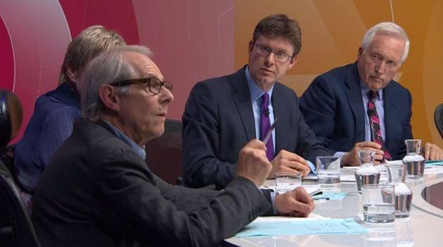 Ken Loach on Question Time in