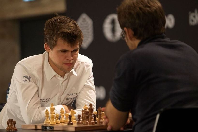 Magnus Carlsen has been the World Chess Champion since 2013.