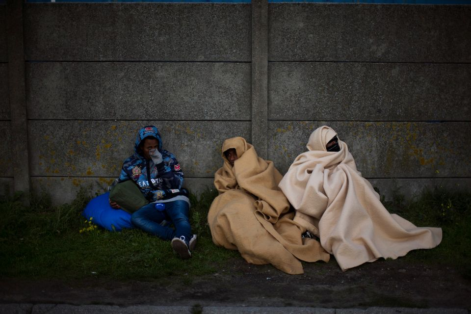 Migrants from Eritrea with nowhere to