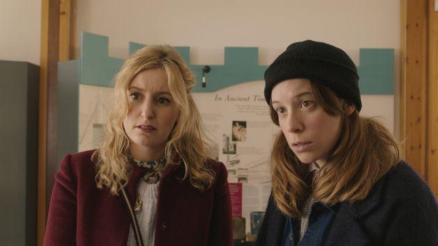 Laura Carmichael and Chloe Pirrie star in 'Burn Burn
