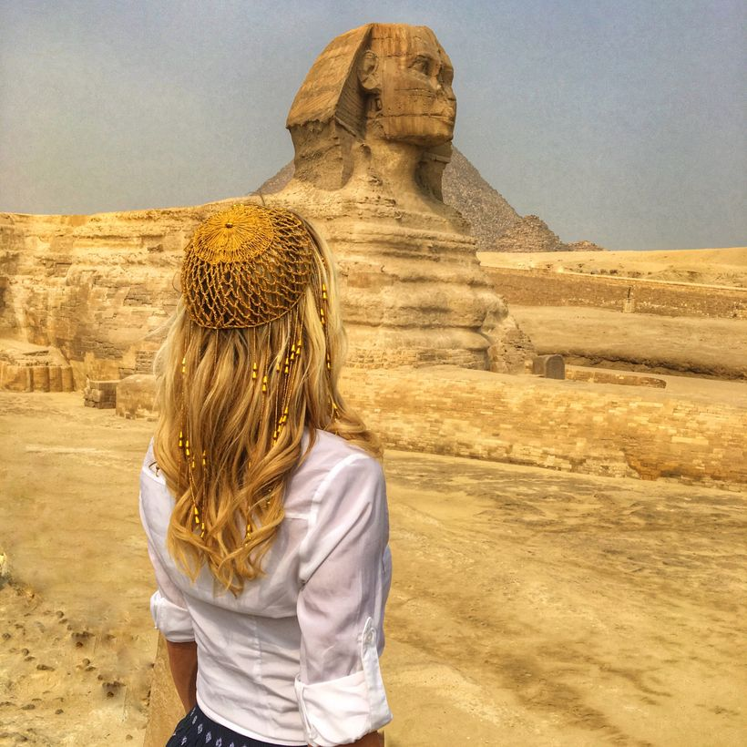 One of my #lifegoalz was to see the Sphinx!