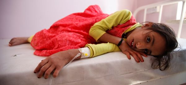 Yemen's Suspected Cholera Cases Soar To 1,410 Within Weeks, WHO Says