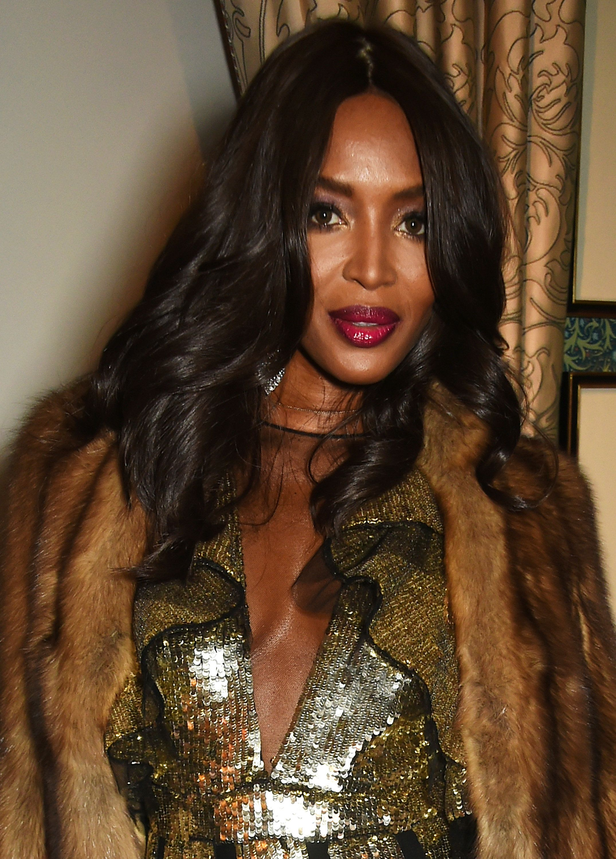 LONDON, ENGLAND - OCTOBER 27:  Naomi Campbell attends Edward Enninful's OBE dinner at Mark's Club on October 27, 2016 in London, England.  (Photo by David M. Benett/Dave Benett/Getty Images for Edward Enninful)