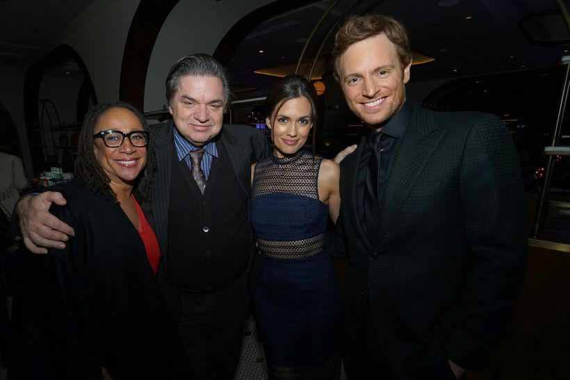 """NBCUNIVERSAL EVENTS -- """"One Chicago Day"""" -- Pictured: (l-r) S. Epatha  Merkson, """"Chicago Med"""", Oliver Platt, """"Chicago Med"""", T"""