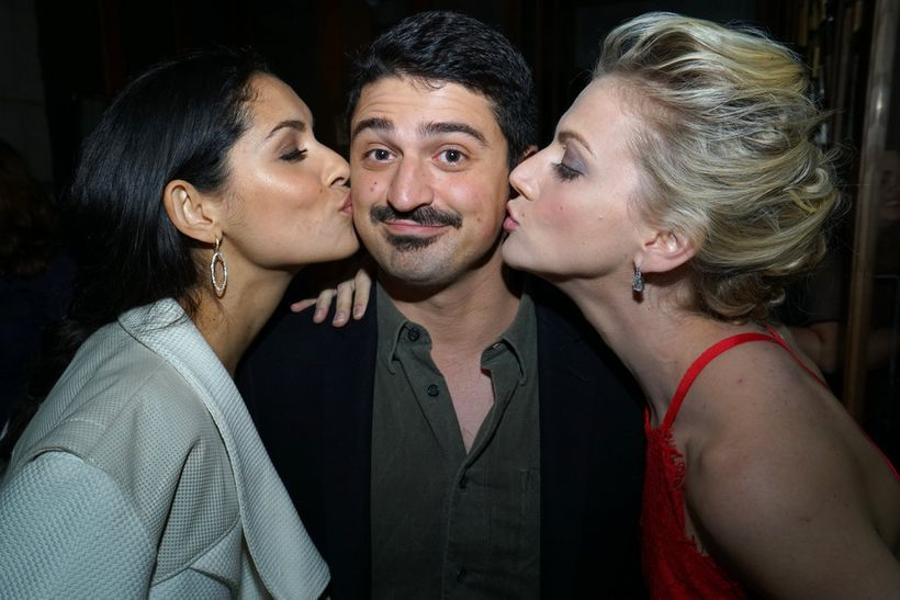 """NBCUNIVERSAL EVENTS -- """"One Chicago Day"""" -- Pictured: (l-r) Miranda Rae  Mayo, """"Chicago Fire"""", Yuri Sardarov, """"Chicago Fire"""","""