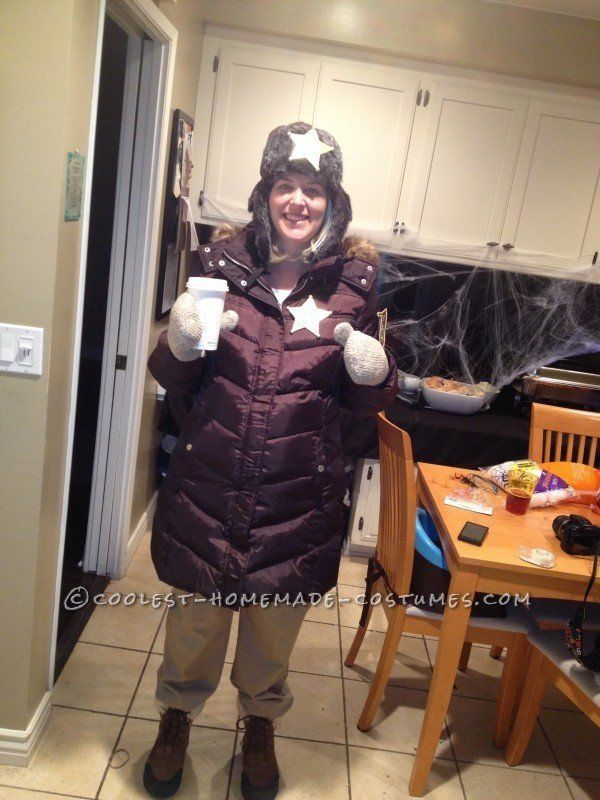 "Via <a href=""http://ideas.coolest-homemade-costumes.com/2013/08/26/homemade-fargos-pregnant-marge-gunderson-halloween-costume"