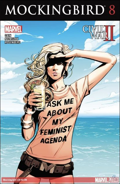 Feminist Comic Book Author Quits Twitter Amid Storm Of Abusive