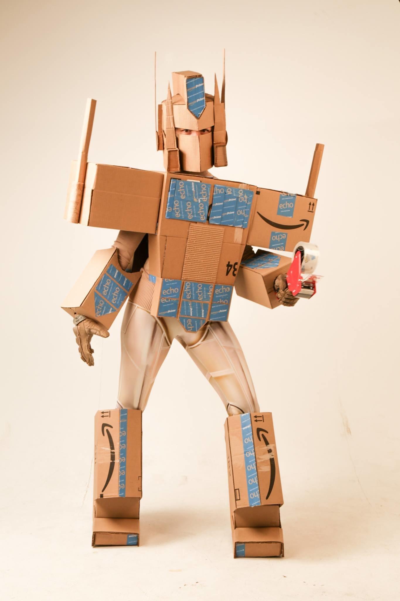 amazon costume. jason hackettfusion marketing amazon costume