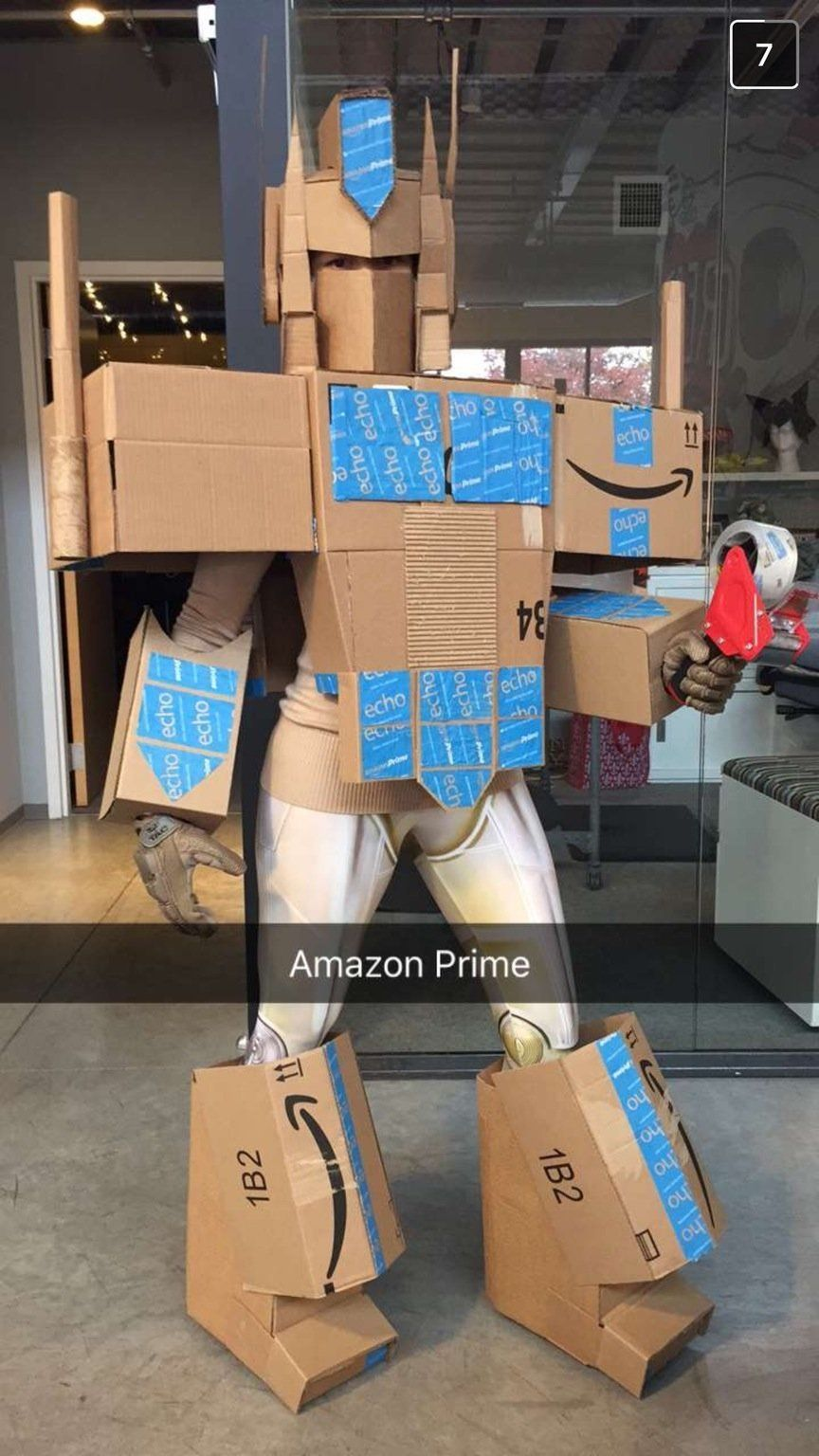 This Woman's Amazon Prime Costume Just Won