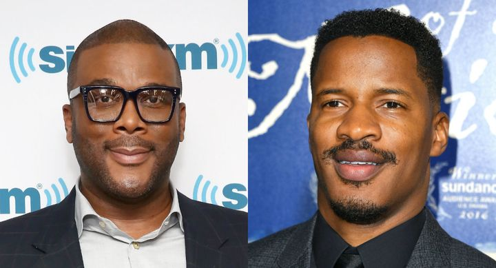 Tyler Perry and Nate Parker, black filmmakers.