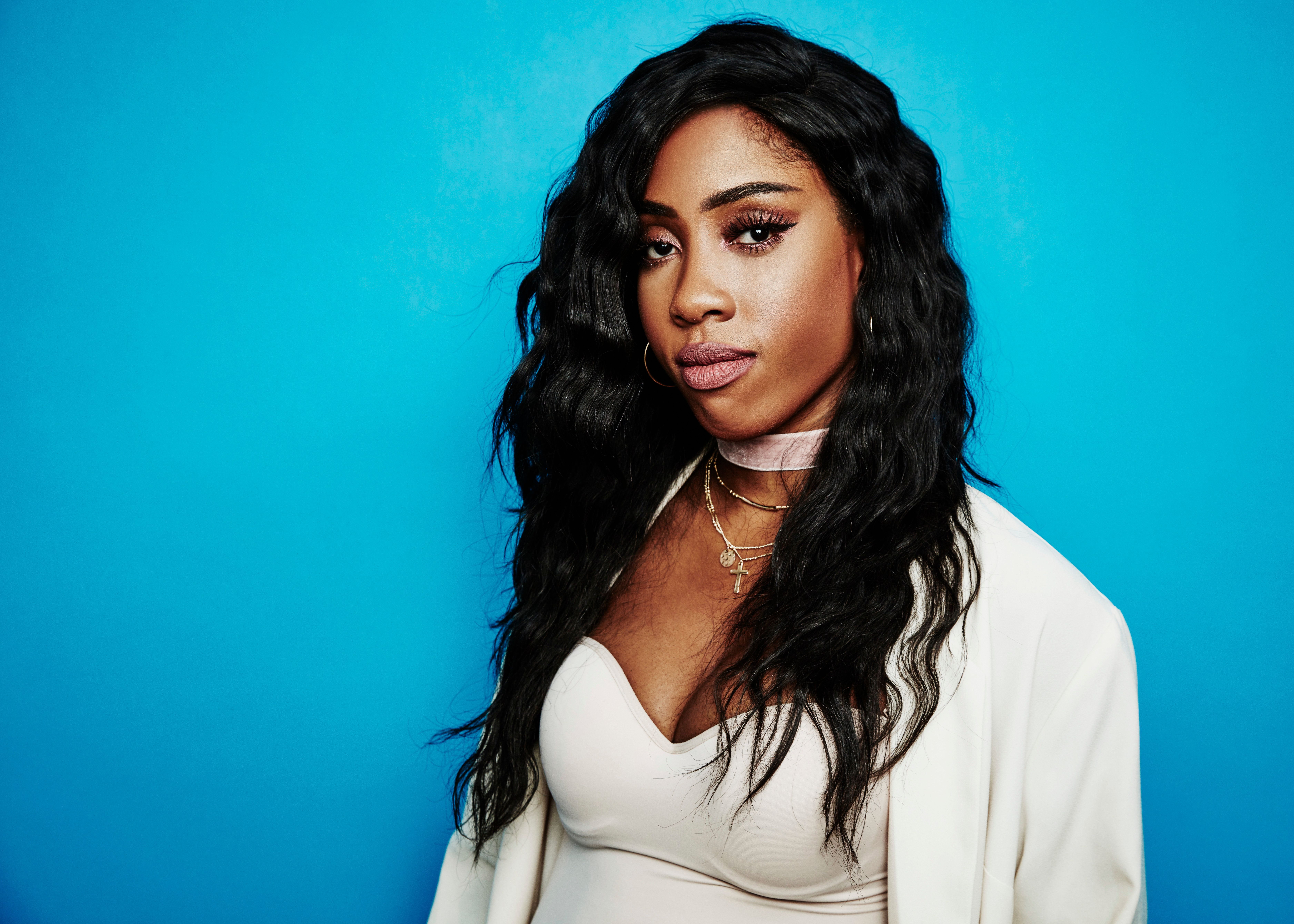 Sevyn Streeter poses for a portrait at the Beverly Hilton Hotelin July.