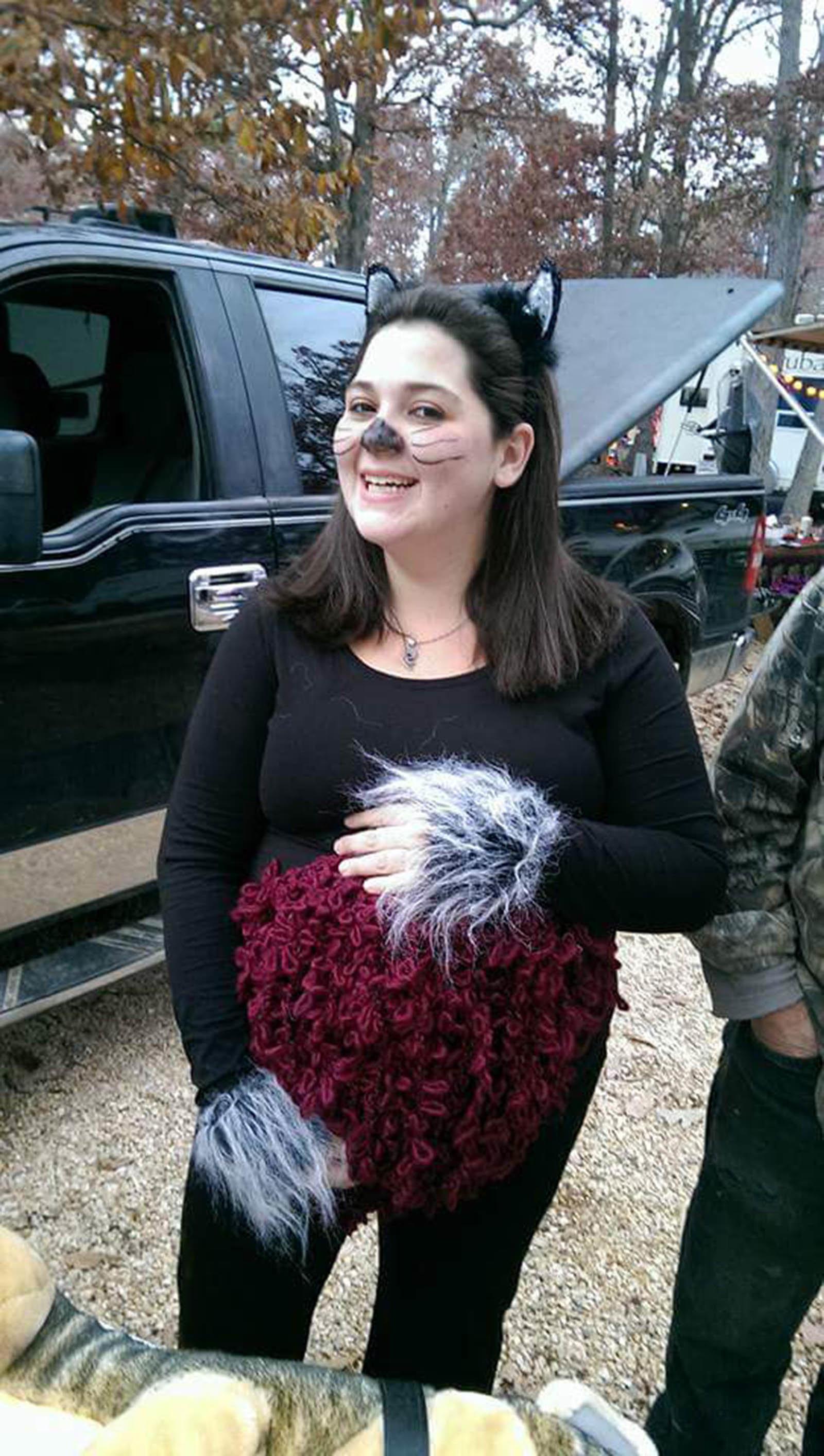 Courtesy ofu0026nbsp;Kristen Robinson  sc 1 st  HuffPost & 41 Creative Halloween Costumes For Pregnant Women   HuffPost