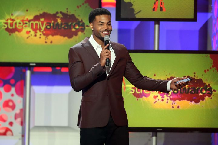 "Host King Bach speaks onstage during the 6th annual Streamy Awards. Bach is one of the <a href=""http://www.businessinsider.co"