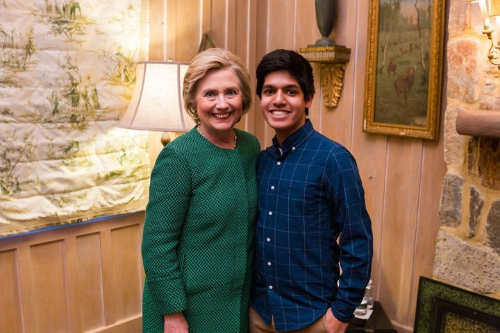 Me with our next President.