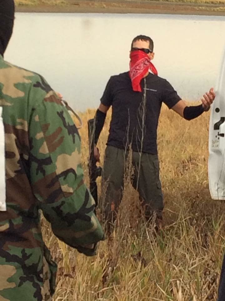 The Standing Rock Sioux claim the alleged victim of a shooting was actually an armed man instigating a confrontation with pro