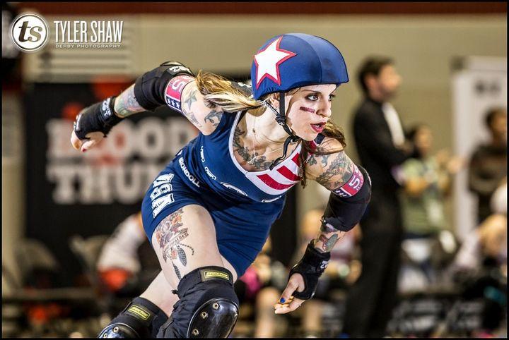 Resultado de imagen de roller derby woman