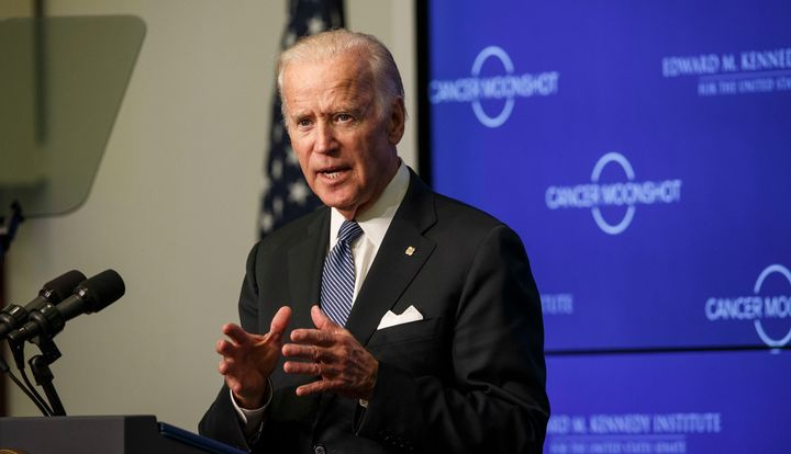 Vice President Joe Biden says he doesn't want to serve in a Clinton administration.