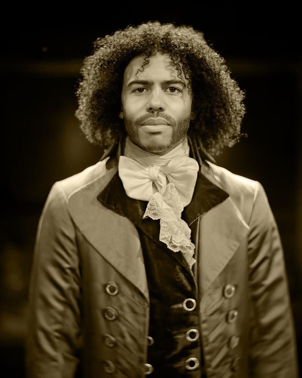 Daveed Diggs as Thomas Jefferson.
