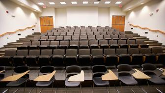 B2CY51 Empty Lecture Hall Empty, Lecture, Hall