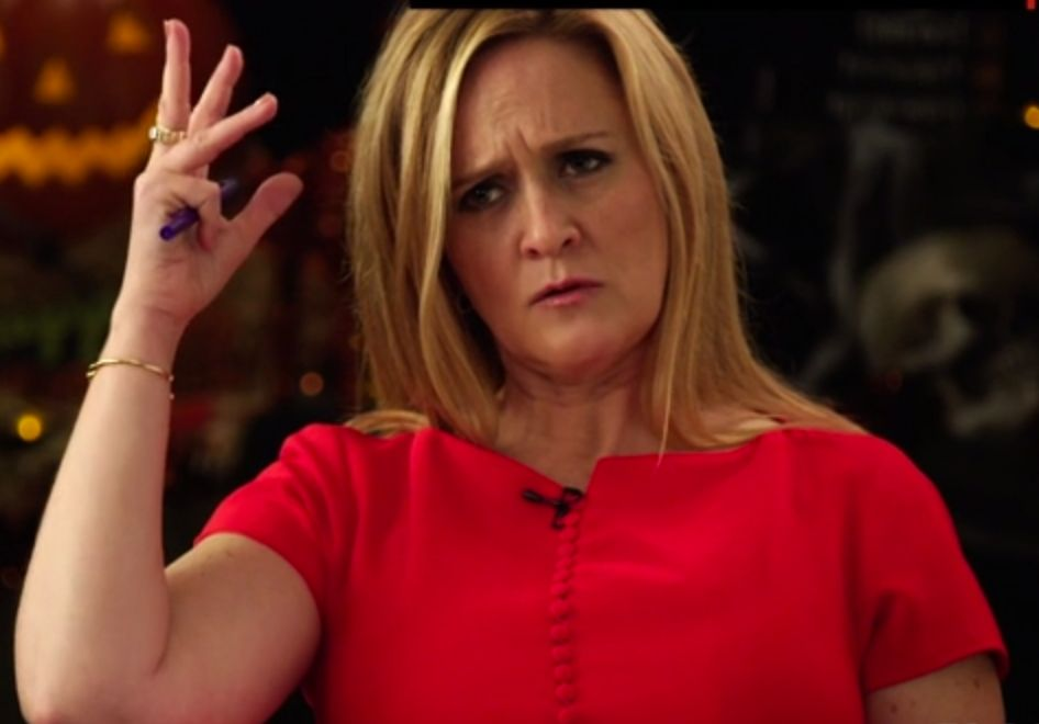 It seems Samantha Bee brought her A-game while interviewing President Barack Obama.