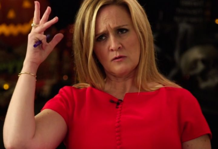 samantha bee gives obama a hard time about his rapidly graying hair