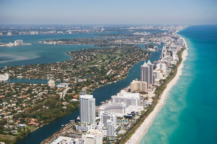 Miami, Florida is among the U.S. cities already battling rising seas.