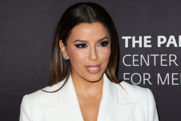 Eva Longoria at theThe Paley Center for Media's Hollywood tribute to Hispanic achievements in Oct.2016.