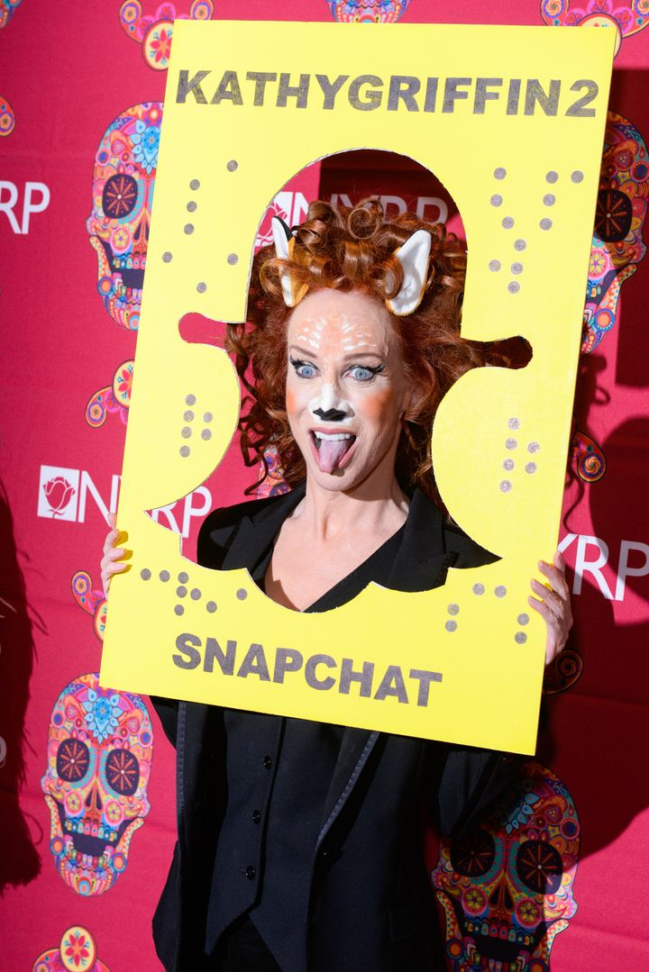 Kathy Griffin attends Bette Midler's Annual Hulaween Bash.