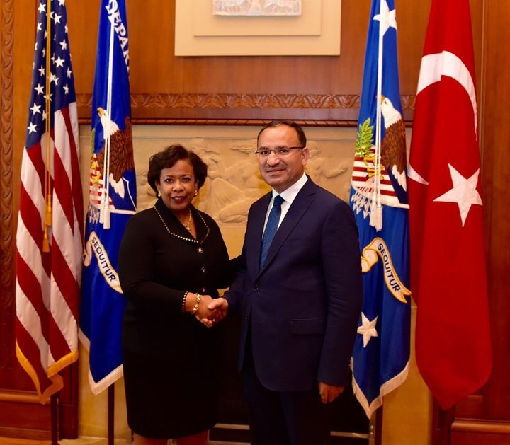 Turkey's justice minister recently met with his American counterpart, Loretta Lynch, in Washington to discuss the extradition