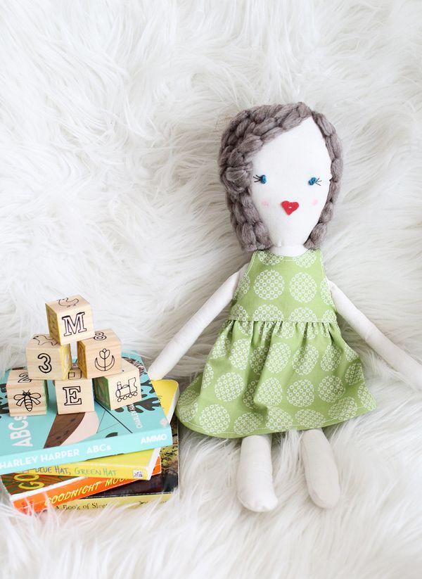 """<strong>Get the <a href=""""http://www.abeautifulmess.com/2014/03/traditional-rag-doll-diy.html"""" target=""""_blank"""">Traditional Rag"""