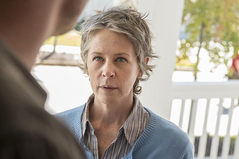 Melissa McBride as Carol Peletier - The Walking Dead _ Season 5, Episode 14 - Photo Credit: Gene Page/AMC