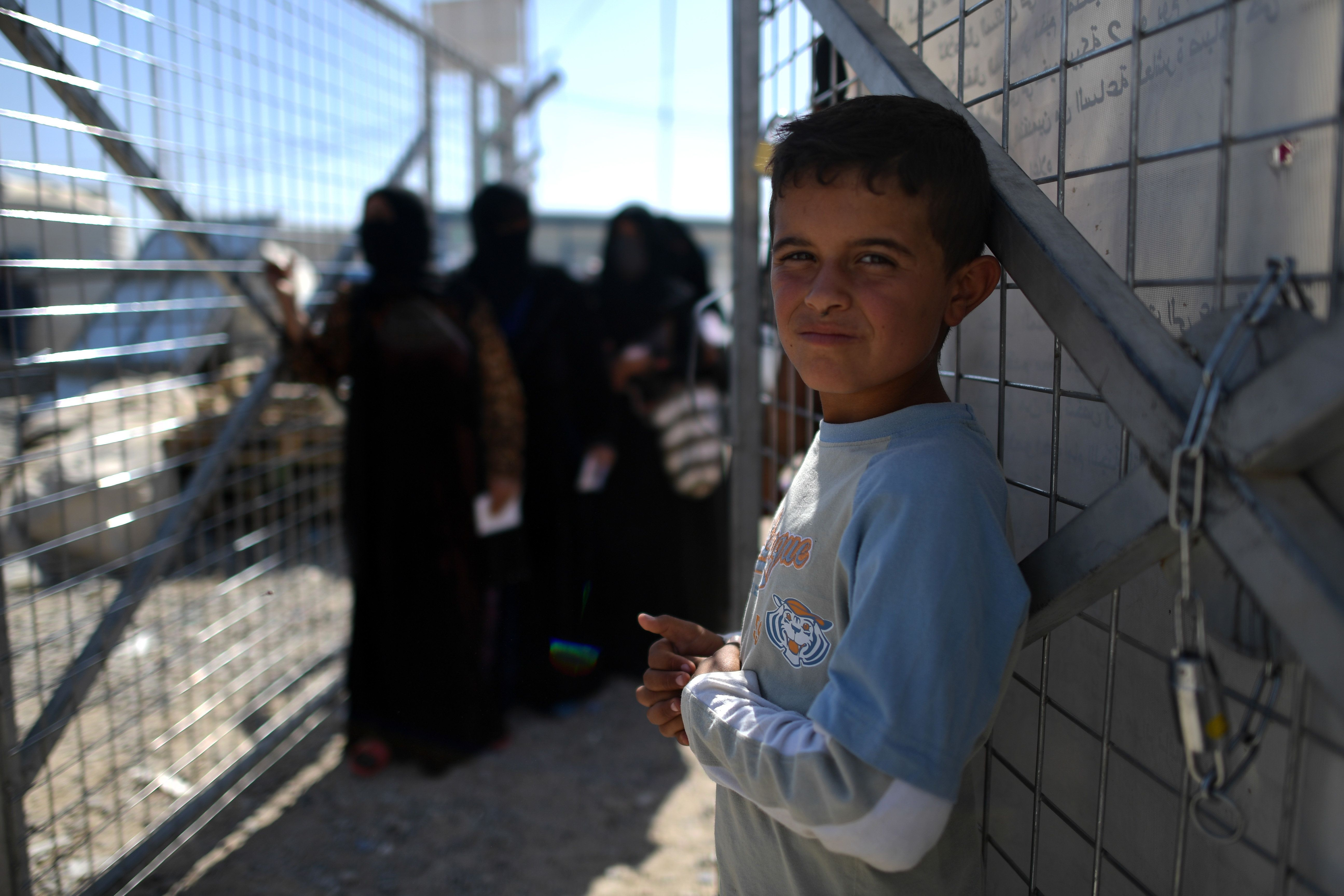 Civilians Fleeing Through ISIS Minefields Face Detention, Prison-Like Conditions In Northern