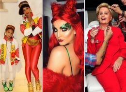 12 Celebrity Costumes That Slayed This Halloween, From Perrie Edwards To Beyoncé And Blue Ivy