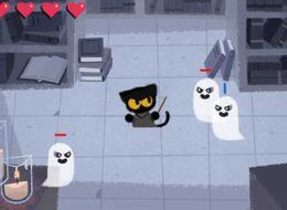 Google's Halloween Doodle Game Is Frighteningly Addictive