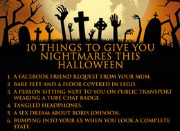 10 Things That Will Give You Nightmares This Halloween