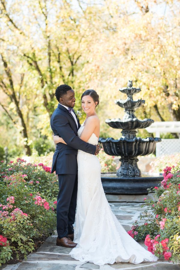 """Jackson and Amanda had a beautiful fall wedding at Dara's Garden in Knoxville, Tennessee."" -- <i>Shane and Beth</i>"