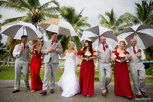 """Congratulations Mr. and Mrs. Mills! On Saturday Romana and Steve tied the knot at Dreams La Romana in Dominican Republi"