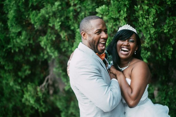 """Gregory and Tameka's wedding in Orlando."" -- <i>Sally Nguyen</i>"