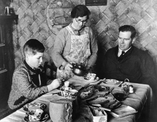 11-year-old Otto Busch from Vienna moves in with Mr G. Guest, a British lorry driver, and his wife, at...