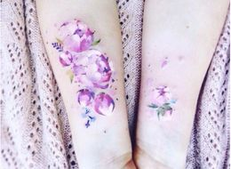 21 Watercolor Tattoos That'll Turn Your Body Into A Masterpiece