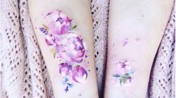 21 Watercolor-Inspired Tattoos That Will Turn Your Body Into A