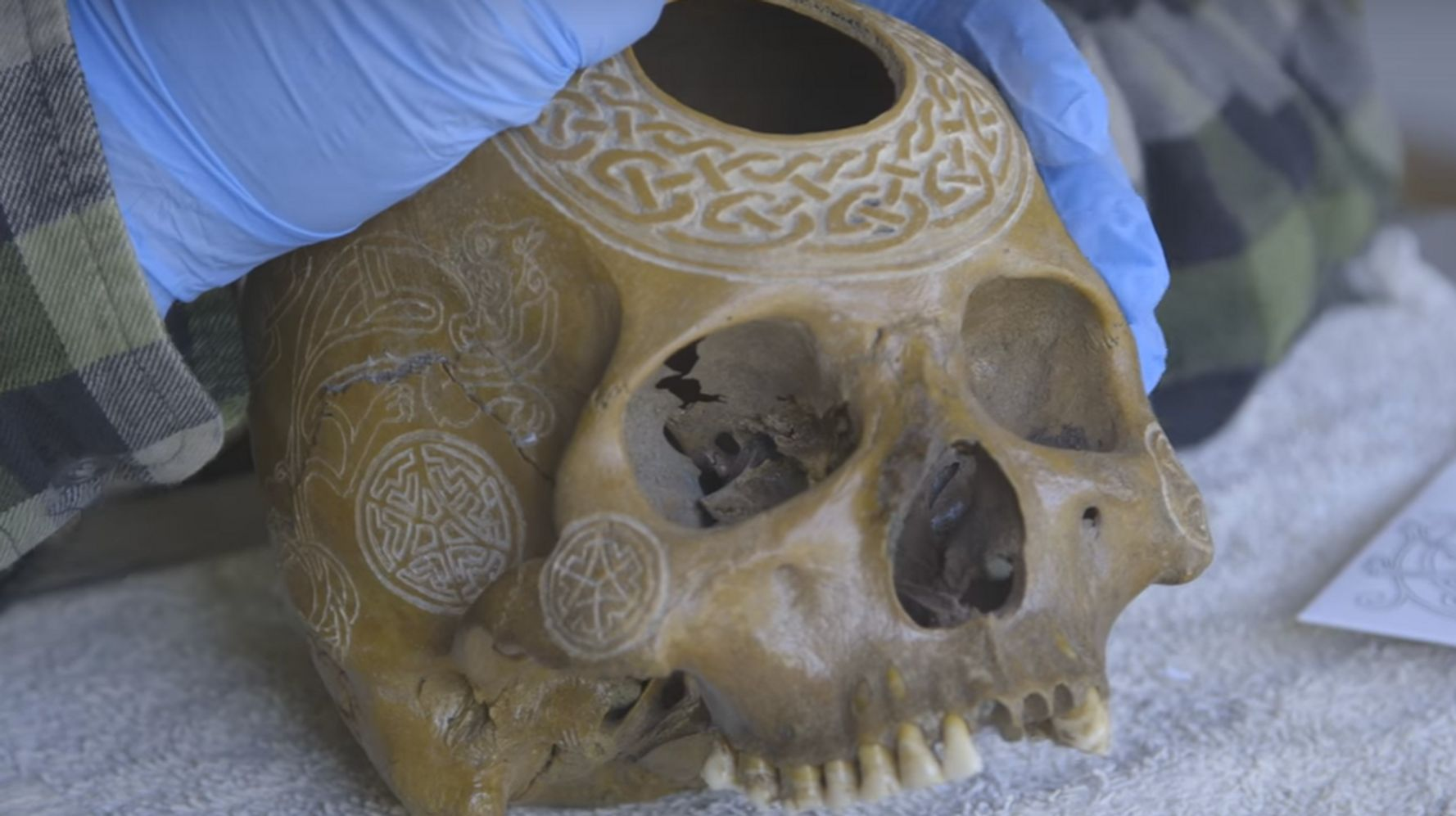 This Bone Carving Artist Is A Real Skull Ptor Huffpost