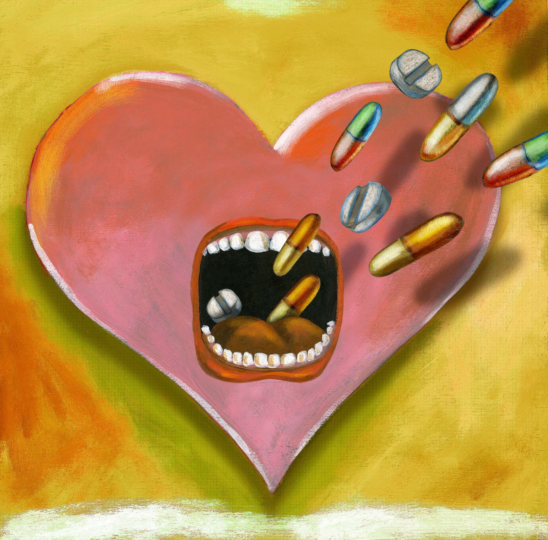A heart taking medication