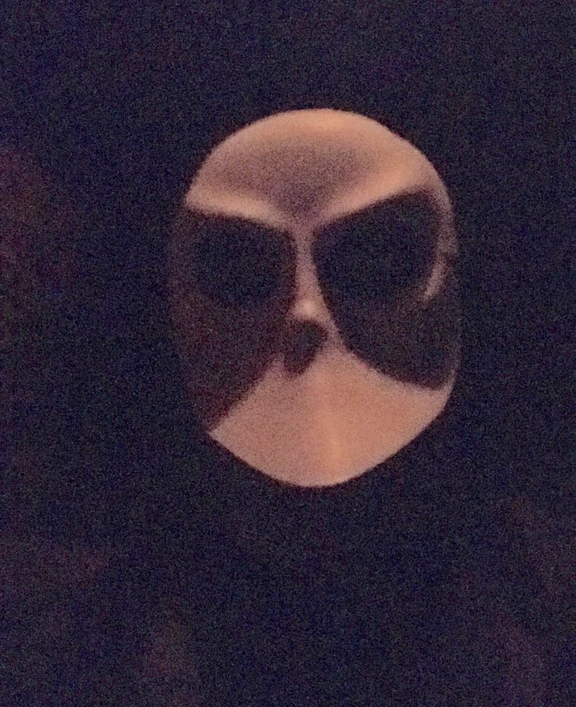 Kyle McMahon at Sleep No More in New York City.