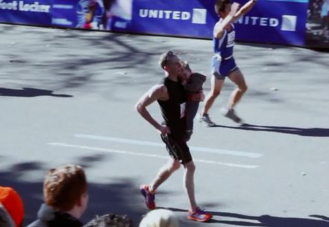 <p>Official 2011 NYC Marathon Finishing Time: 2:56:22.</p>