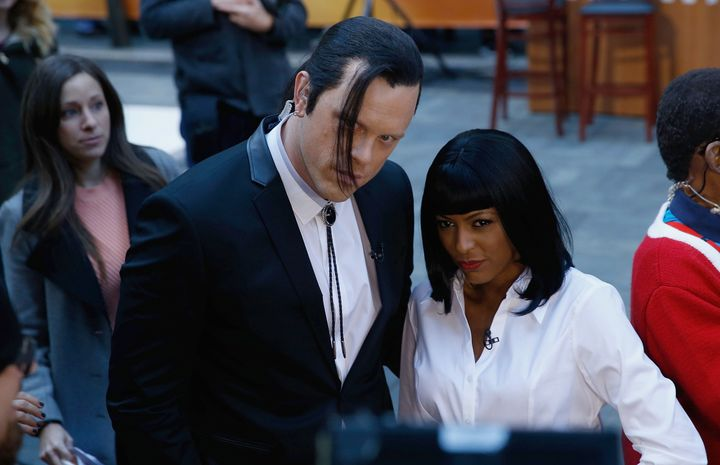 tamron hall and willie geist as uma thurman and john travolta from pulp fiction