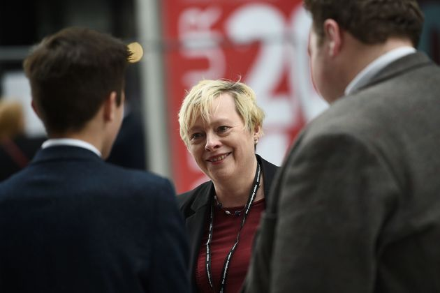 Angela Eagle at the party conference in
