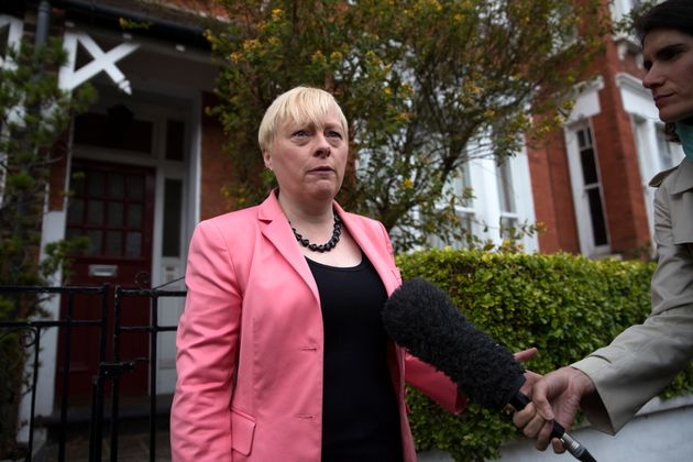 Angela Eagle, soon after resigning in